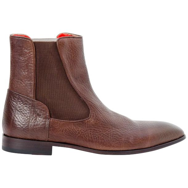 Remo Brown Buffalo Skin Beatles Boots  thumb #3