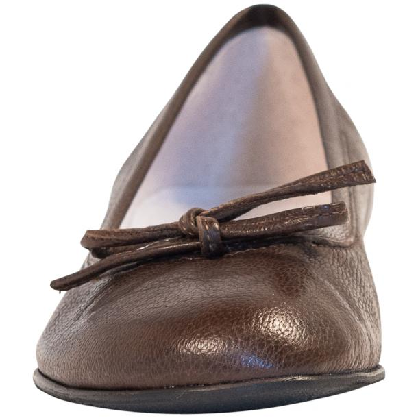 Nadia Cocco Dip Dyed  Nappa Leather Bow Ballerina Flat thumb #3