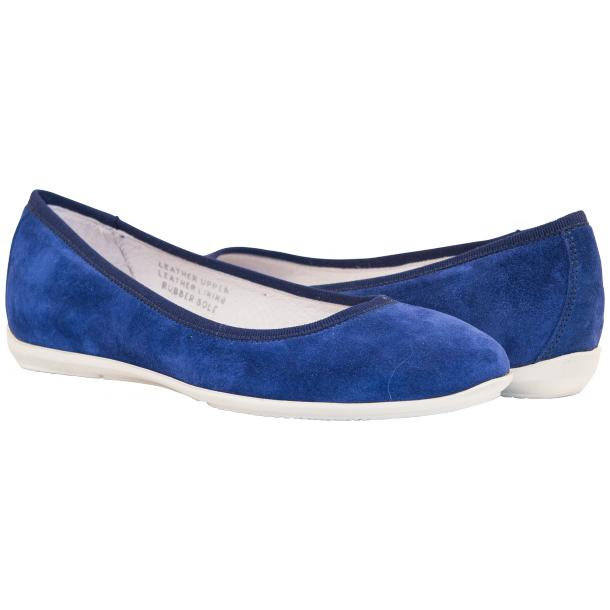 Mimi Indigo Dip Dyed Suede Ballerina Flats full-size #1