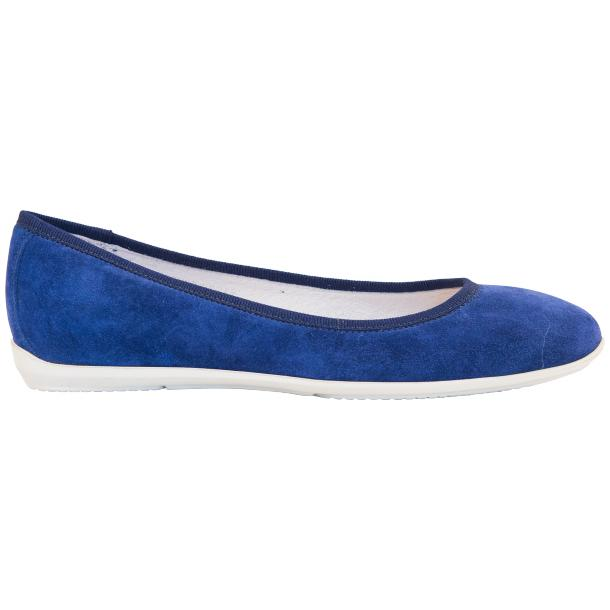 Mimi Indigo Dip Dyed Suede Ballerina Flats full-size #4