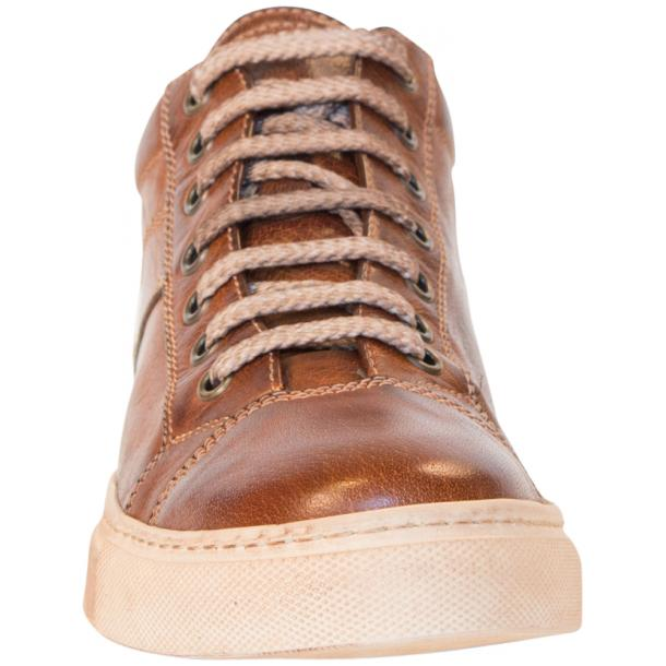 Amelie Dip Dyed Brown Low Top Sneakers  thumb #3