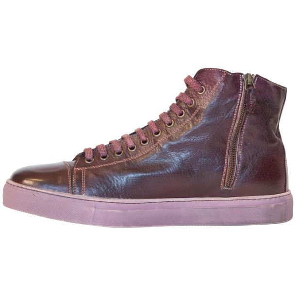 Nova Dip Dyed Oxblood High Top Sneaker thumb #6