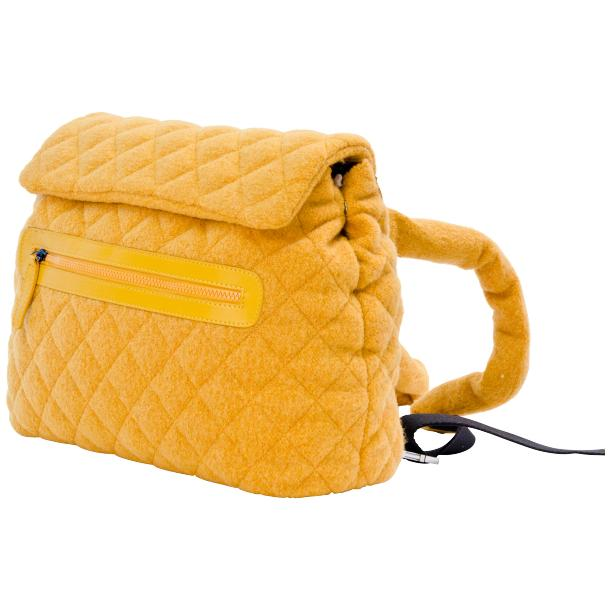 Gina Yellow Hand Backpack full-size #1