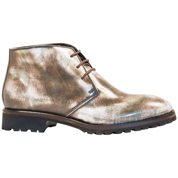 Jules Brown Spray Paint Desert Chukka Boots thumb #4