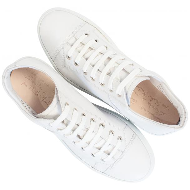 Seth Dip Dyed White Low Top Sneakers  thumb #2