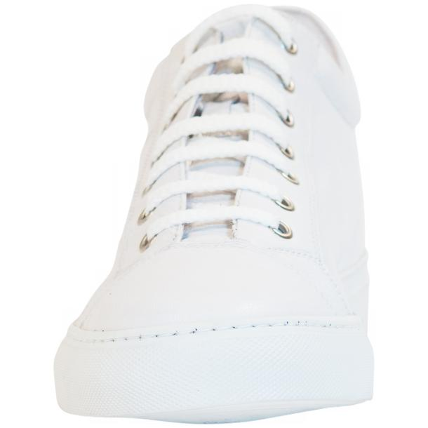 Seth Dip Dyed White Low Top Sneakers  thumb #3