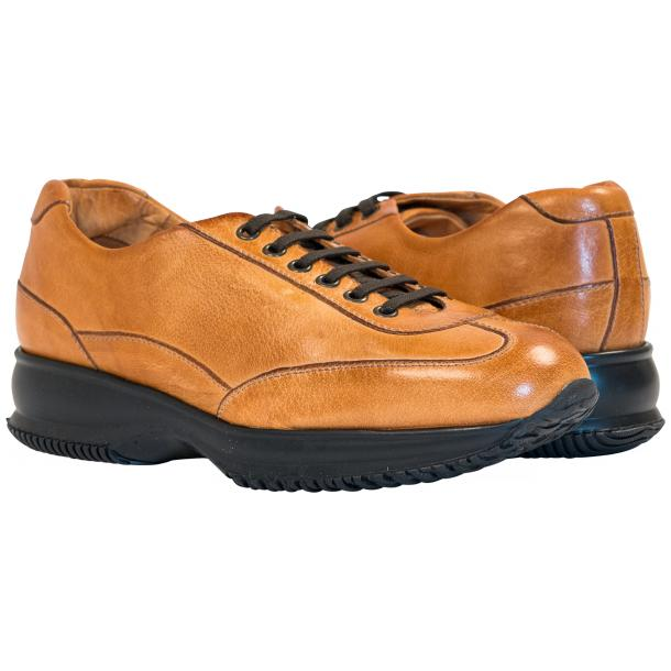 Fredo Brick Nappa Leather Low Top Sneakers  full-size #1