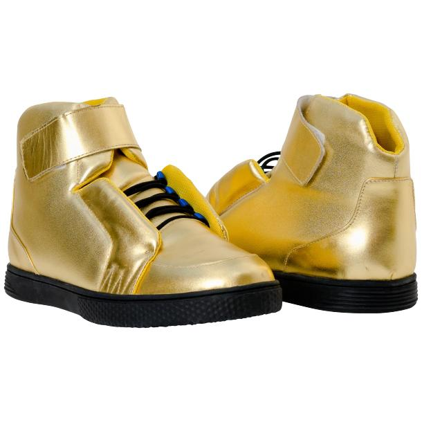 Jackson Gold Nappa Leather High Top Sneakers  full-size #1