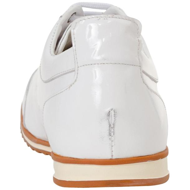 Bronson White Nappa Leather Low Top Sneakers thumb #5