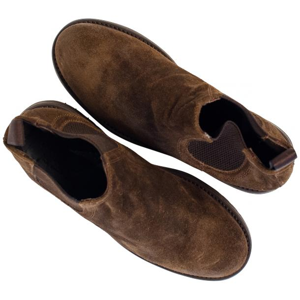 Zach Brown Suede Chelsea Pull on Boots  thumb #2