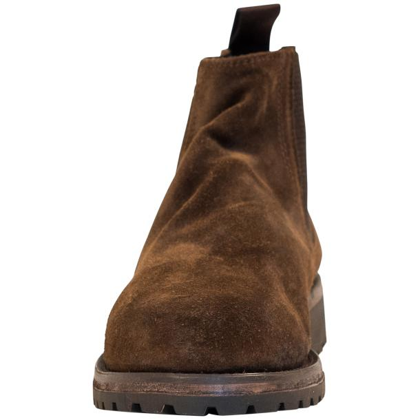 Zach Brown Suede Chelsea Pull on Boots  thumb #3