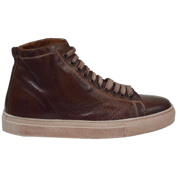 Heidi Dip Dyed Brown High Top Sneaker  thumb #2