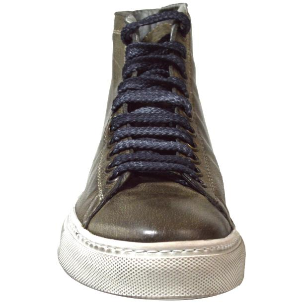 Alara Dip Dyed Stone Grey High Top Sneaker  thumb #2