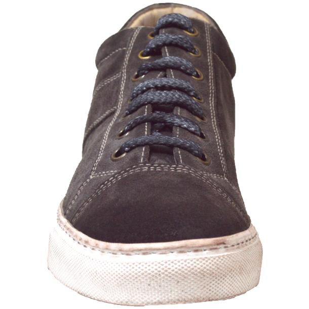Hannah Suede Grey Dip Dyed Sneakers full-size #2