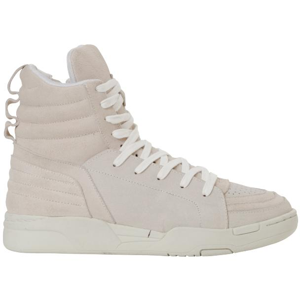 Breakin' Royal White Suede full-size #4