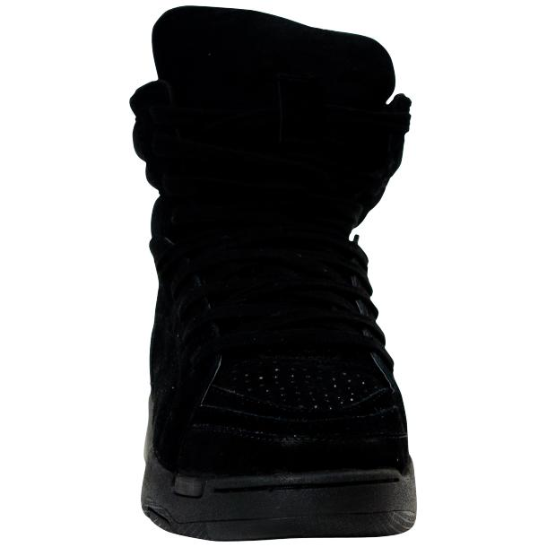 Breakin' Royal Black Suede High Top Sneakers thumb #3