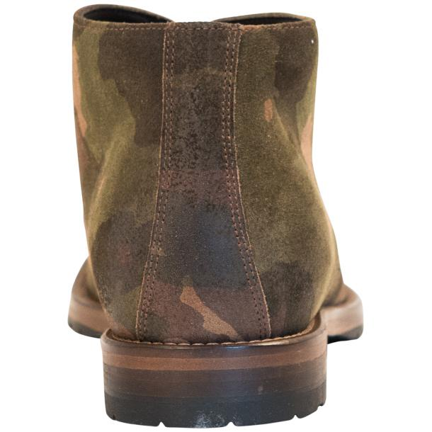 "Brenda Camouflage ""Hunting"" Suede Desert Chukka Boots thumb #5"