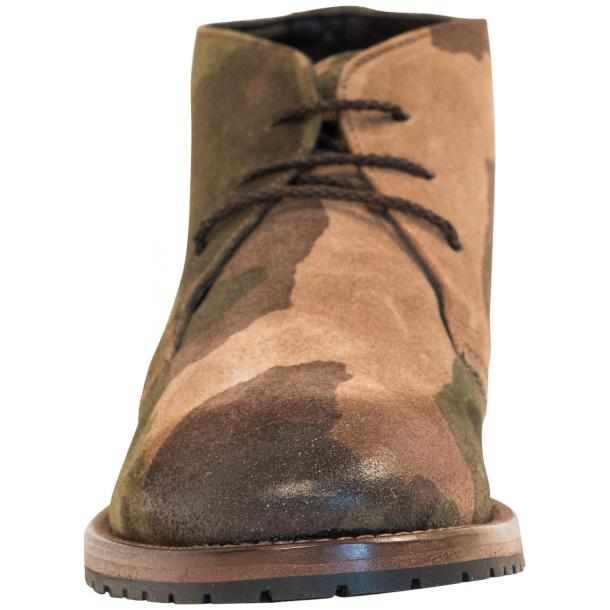 "Brenda Camouflage ""Hunting"" Suede Desert Chukka Boots thumb #3"
