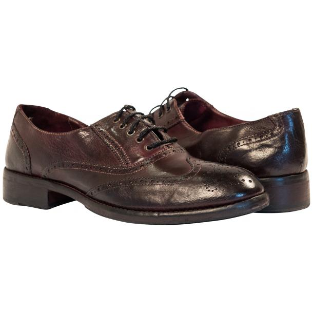 "Desiree Dip Dyed ""Oxblood""Leather Wingtip Lace Up Oxfords full-size #1"