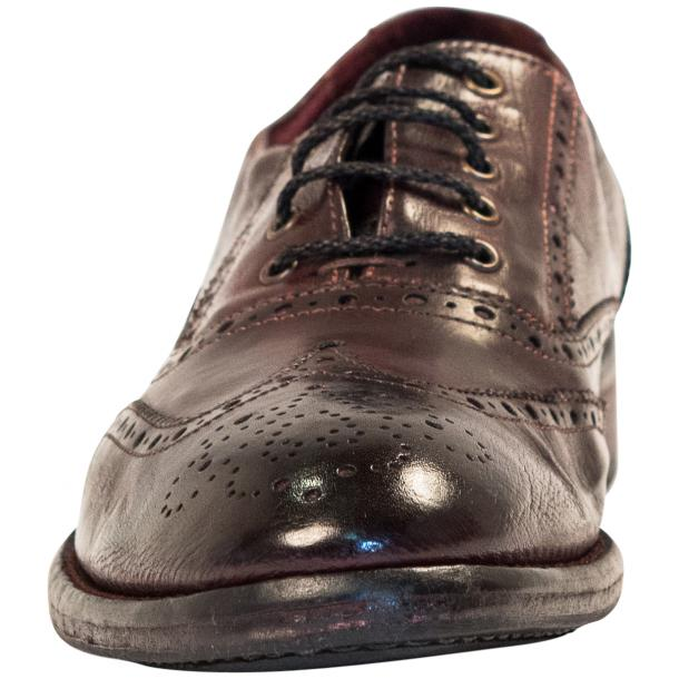 "Desiree Dip Dyed ""Oxblood""Leather Wingtip Lace Up Oxfords thumb #3"