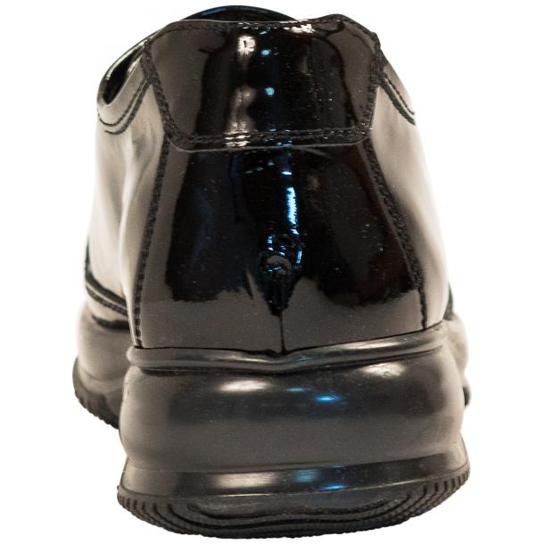 Misha Black Patent Leather Rubber Sole Sneaker Shoes thumb #5