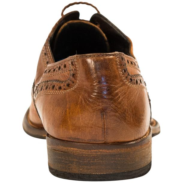 Mateo Dip Dyed Mahogany Nappa Leather Oxfords thumb #5