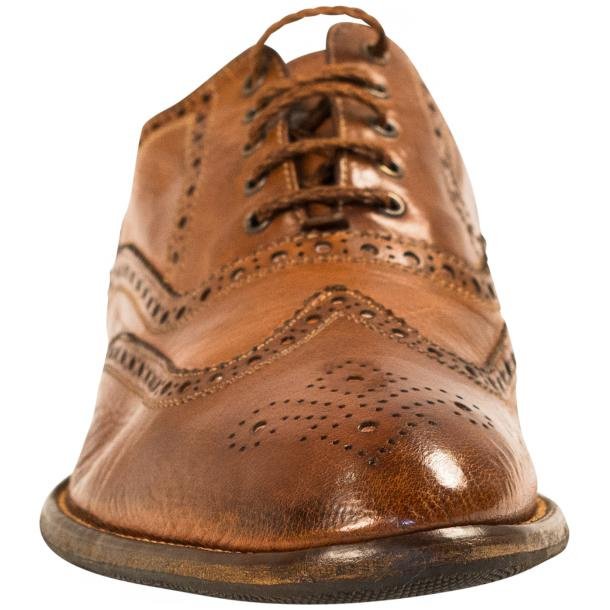 Mateo Dip Dyed Mahogany Nappa Leather Oxfords thumb #3
