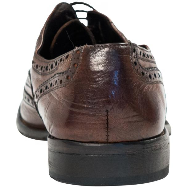 Mateo Dip Dyed Brown Moor Nappa Leather Oxfords thumb #5