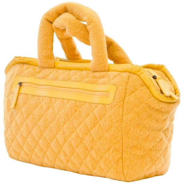 Abby Dijon Yellow Handbag full-size #1