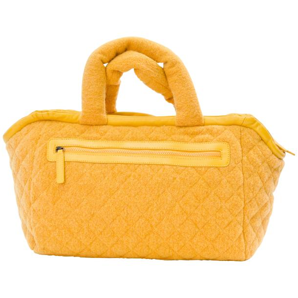 Abby Dijon Yellow Handbag full-size #4