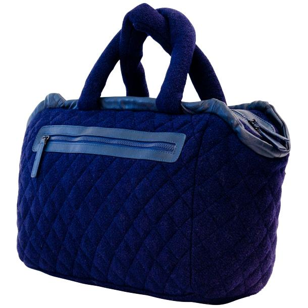 Abby Blue Purple Handbag full-size #1