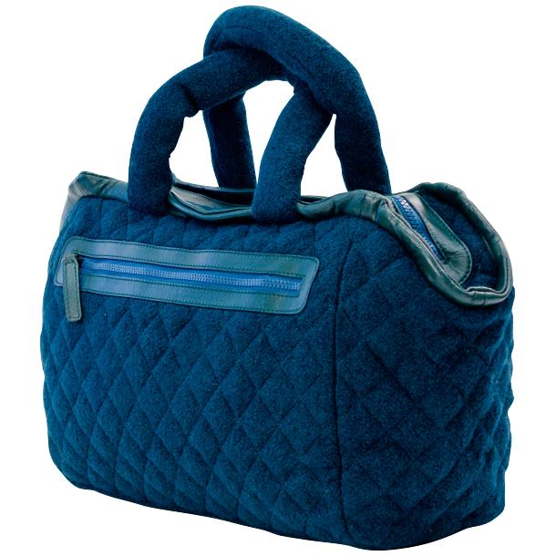 Gertude Royal Blue Handbag full-size #1
