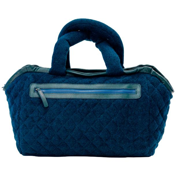Gertude Royal Blue Handbag thumb #4