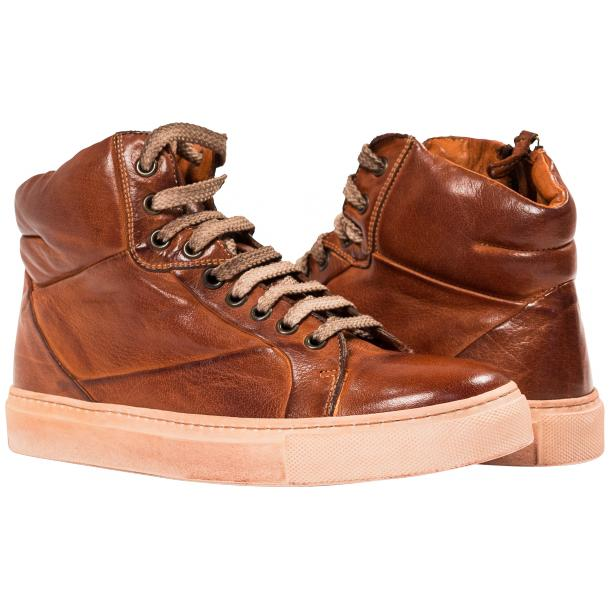 Kim Dip Dyed Coker Nappa Leather High Top Sneaker full-size #1