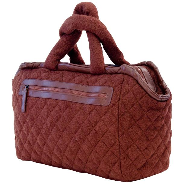Abby Red Brown Handbag full-size #1