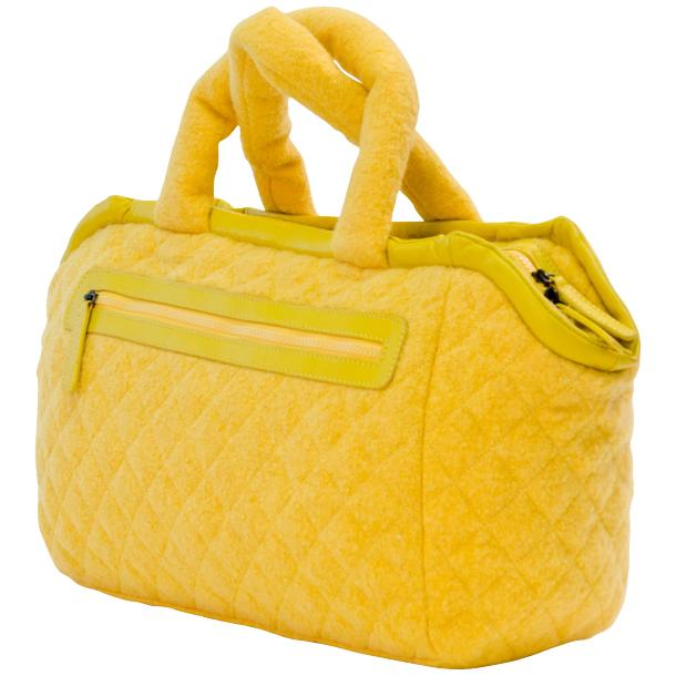 Abby Yellow Handbag full-size #1