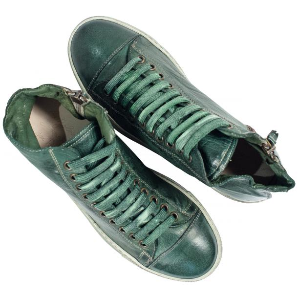 Fiona Dip Dyed Green High Top Sneaker  thumb #2