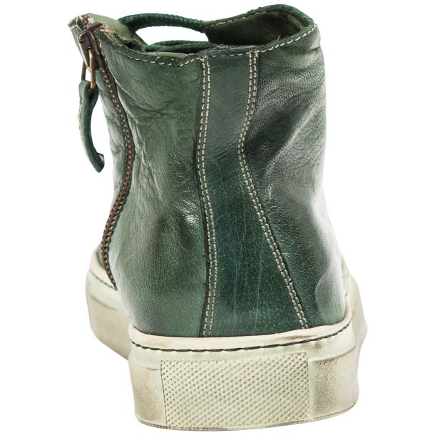 Fiona Dip Dyed Green High Top Sneaker  thumb #5