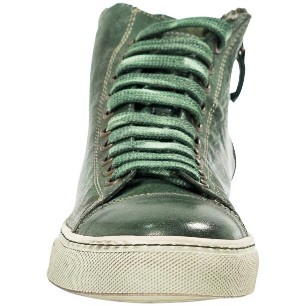Fiona Dip Dyed Green High Top Sneaker  thumb #3