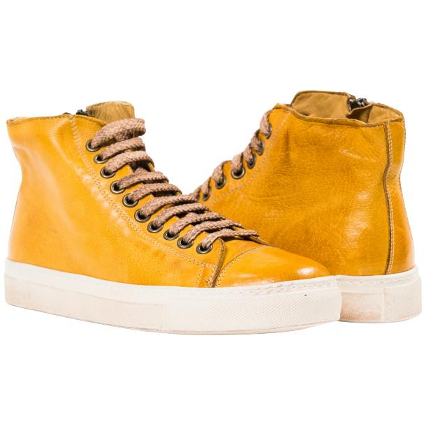 Ember Dip Dyed Mahogany High Top Sneaker  full-size #1