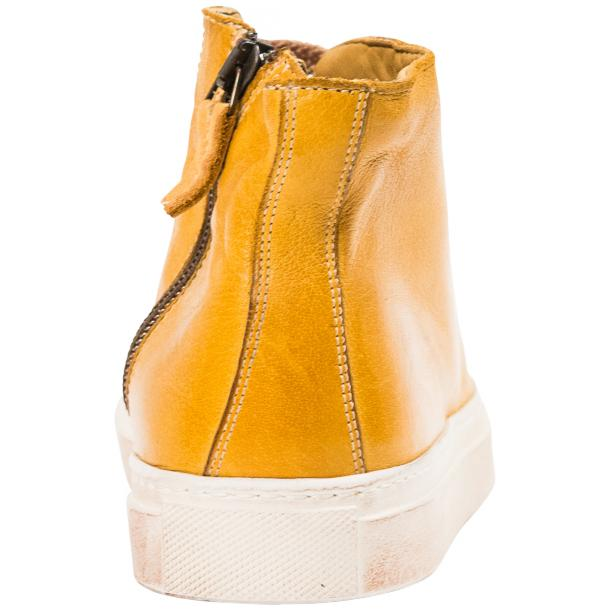 Fiona Dip Dyed Mahogany High Top Sneaker  thumb #5