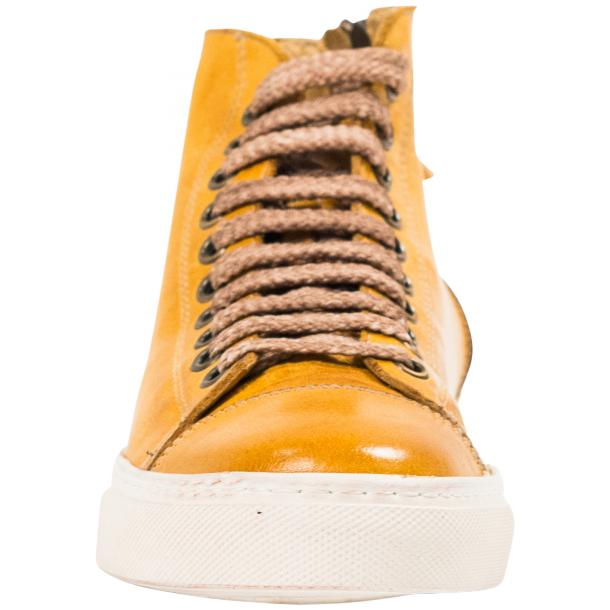Ember Dip Dyed Mahogany High Top Sneaker  thumb #3