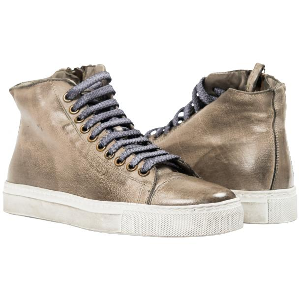 Penny Dip Dyed Grey High Top Sneaker  full-size #1