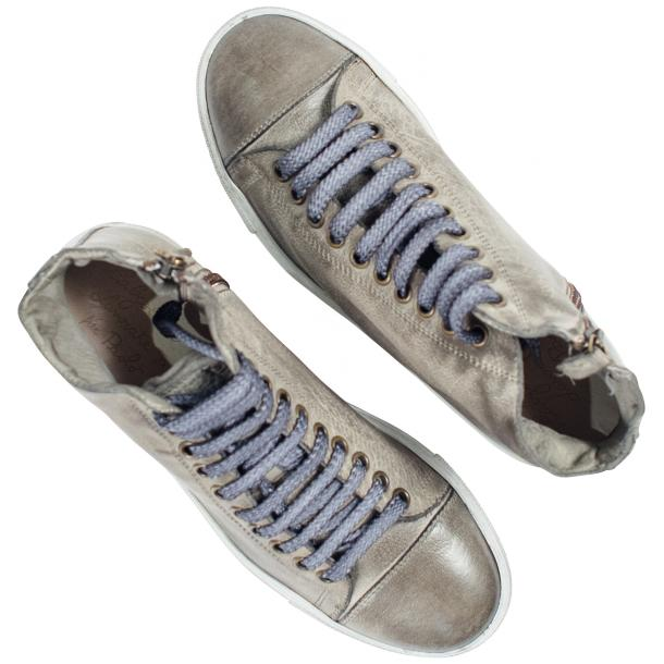 Penny Dip Dyed Grey High Top Sneaker  thumb #2