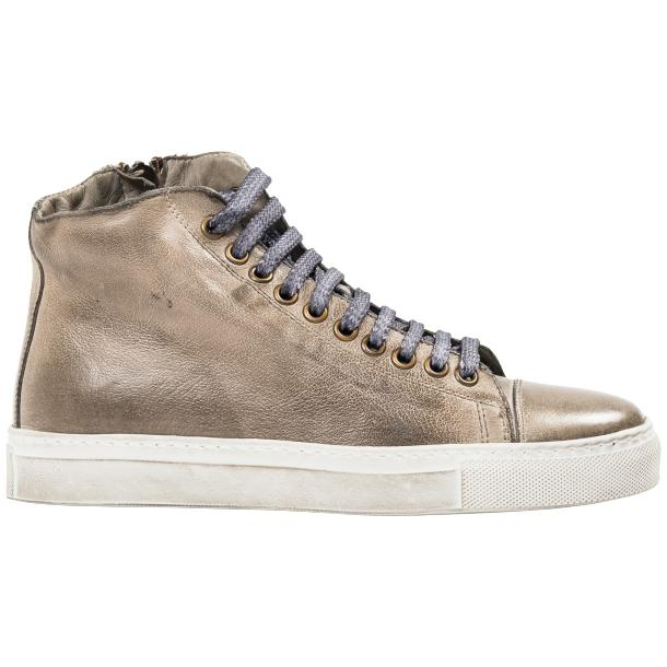 Penny Dip Dyed Grey High Top Sneaker  thumb #4