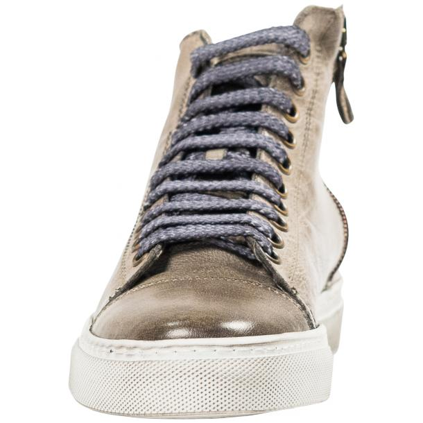 Penny Dip Dyed Grey High Top Sneaker  thumb #3
