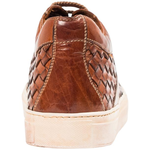 Veronica Dip Dyed Brick Hand Woven Low Top Sneaker  thumb #5
