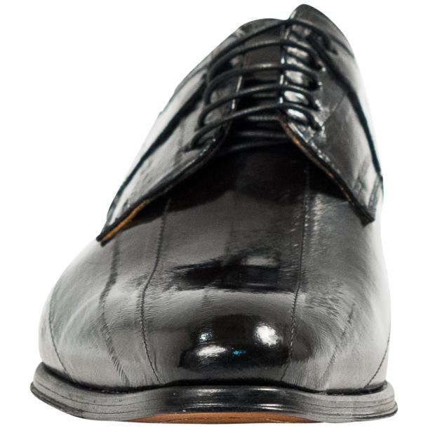"Craig Black ""Nero"" Eel Skin  Laced up Dress Shoes thumb #3"