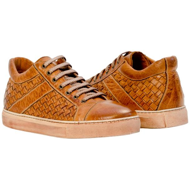 Zion Dip Dyed Brick Woven Sneakers  full-size #1