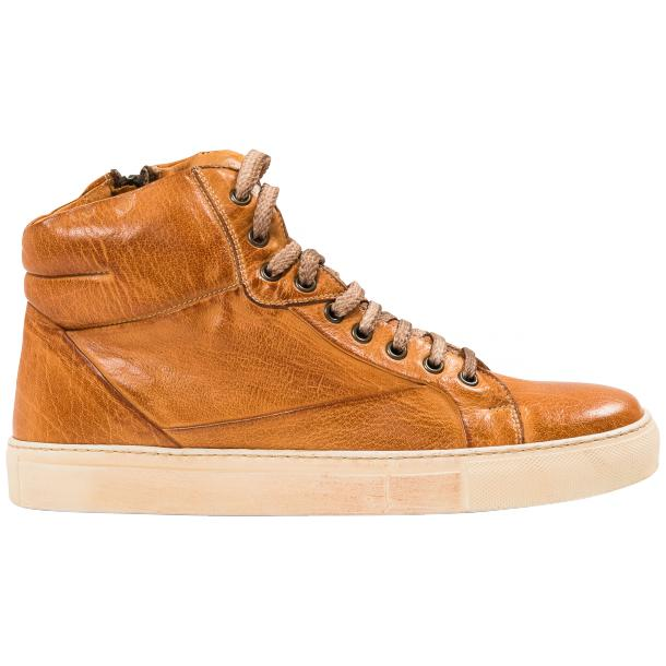 Kim Dip Dyed Brick Nappa Leather High Top Sneaker full-size #4